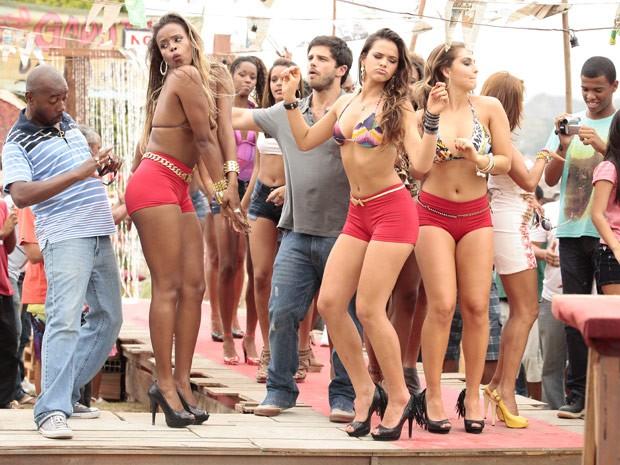 concurso garota da laje (Foto: Salve Jorge / TV Globo)
