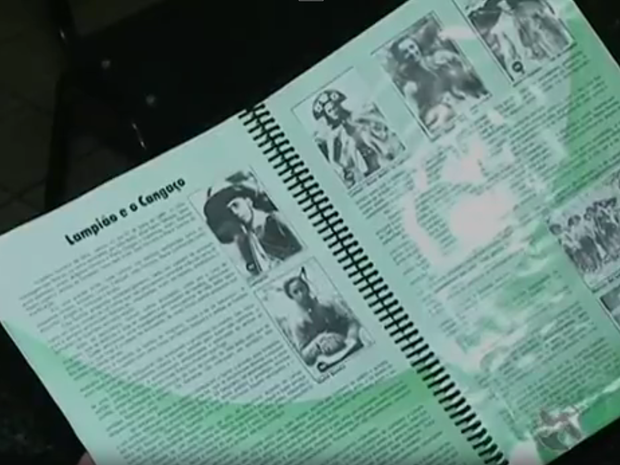 Álbum de figurinhas de Serra Talhada, PE (Foto: Reprodução/ TV Asa Branca)