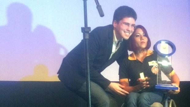 Discursos emocionados marcam 21º TRM (Jorge Sauma/GloboEsporte.com)