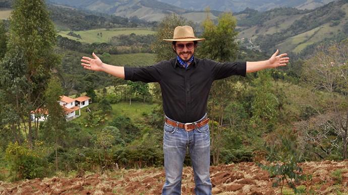 Edu vive no interior de Minas Gerais (Foto: Arquivo Pessoal)