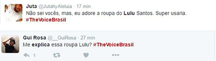Tweet Look Lulu (Foto: reprodução internet)