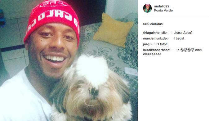 Instagram Audálio CRB (Foto: Reprodução/Instagram)