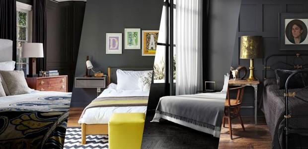 12 quartos pretos para inspirar (Foto: Casa Vogue)
