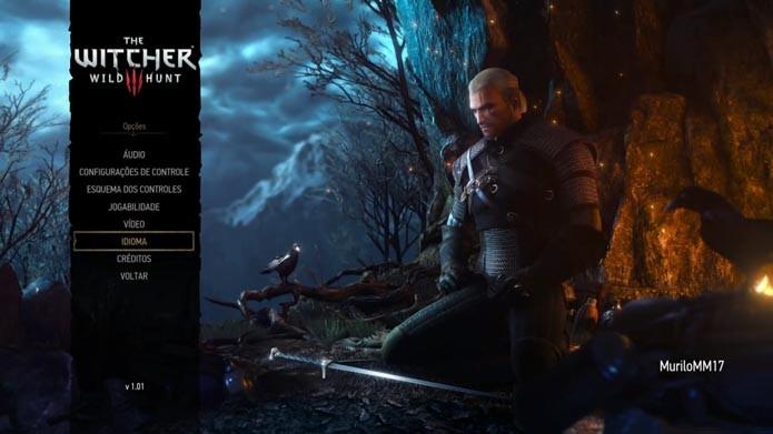 The Witcher 3: Wild Hunt: como mudar a dublagem do game (Foto: Reprodução/Murilo Molina)