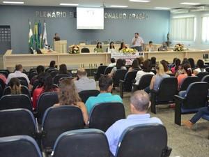Fórum de Enfrentamento à Violência contra a Mulher de 2015 (Foto: Magda Oliveira/G1)