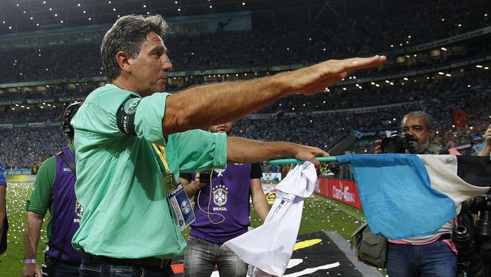 GrÊmio x Atlético-MG Copa do Brasil final Grêmio Renato Gaúcho penta (Foto: Lucas Uebel/Grêmio)