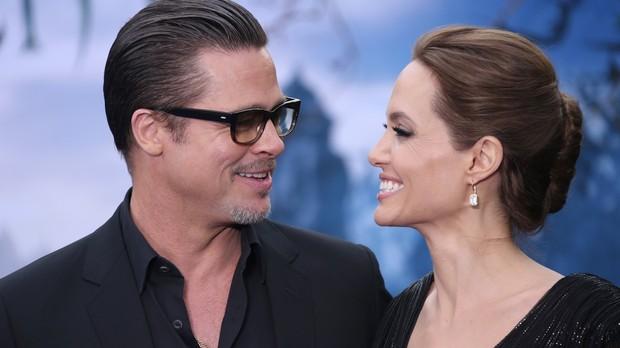 Brad Pitt e Angelina Jolie se separaram aps mais de dez anos juntos (Foto: Invision)