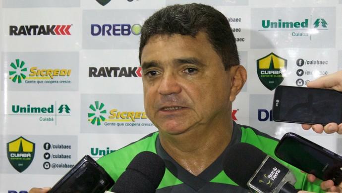 Flávio Araújo, treinador do Cuiabá (Foto: Pedro Lima/Cuiabá Esporte Clube)