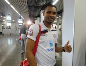 Marco Antônio, zagueiro do Aracruz (Foto: Richard Pinheiro/Globoesporte.com)