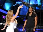 Mariah Carey joga purpurina em candidata do 'American Idol'