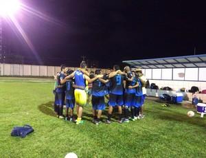 Equipe de Jaci concentrada para amistoso (Foto: Jheniffer Núbia)