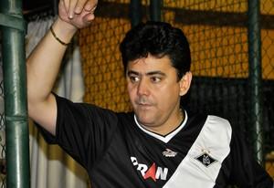 Éder Moraes - dirigente do Mixto (Foto: Robson Boamorte/GLOBOESPORTE.COM)