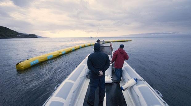 Projeto da The Ocean Cleanup (Foto: Divulgação/The Ocean Cleanup)