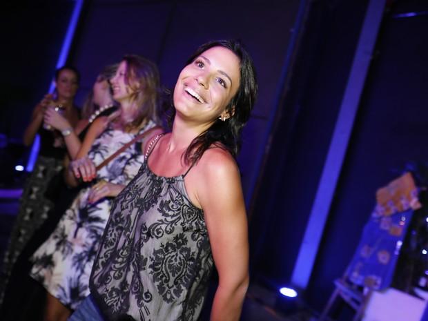 Juliana Knust em festa no Centro do Rio (Foto: Felipe Panfili/ Divulgação)