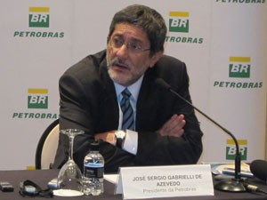 Gabrielli falou sobre plano estratégico da Petrobras nesta quarta-feira (27) (Foto: Gabriela Gasparin/G1)