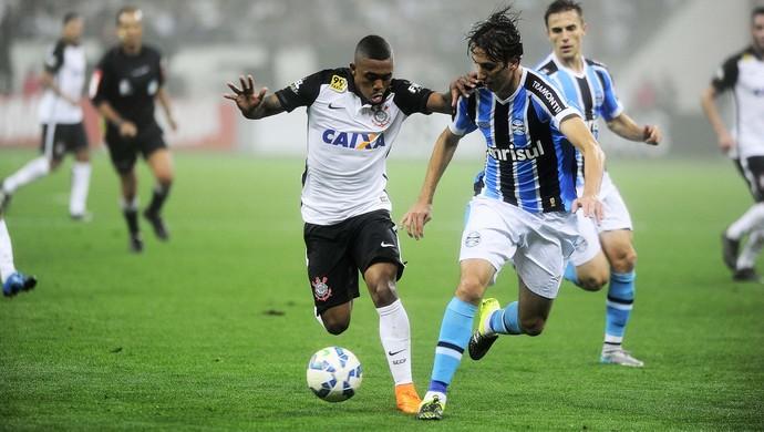 Corinthians x Grêmio Malcom (Foto: Marcos Ribolli)