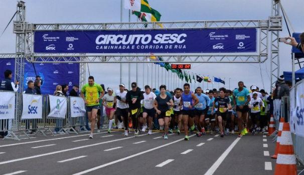 Circuito de corrida SESC (Foto: Divulgação/Site oficial)