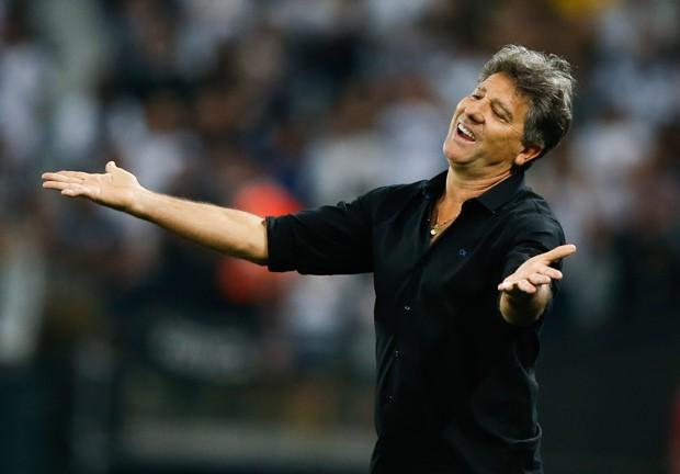 Renato Gaúcho lidera o Grêmio contra um grande desafio (Foto: Alexandre Schneider/Getty Images)