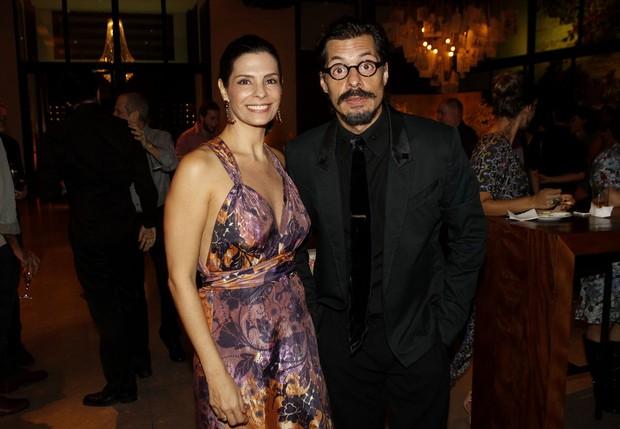 Helena Ranaldi e Daniel Alvim (Foto: Celso Tavares/EGO)