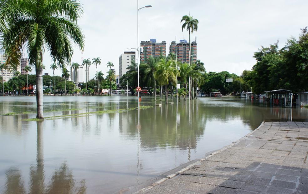 Em João Pessoa choveu 274,6 mm no mês de junho, segundo relatório da Aesa (Foto: Daniel Peixoto/G1/Arquivo)