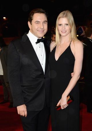 Lara Stone e David Walliams (Foto: Agência/ Getty Images)
