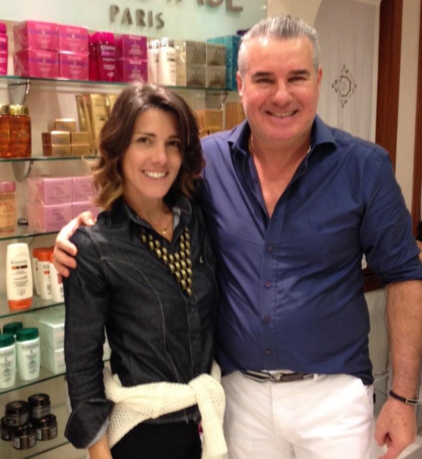 Patricia Simão com o novo cabelo (Foto: Arquivo Pessoal)