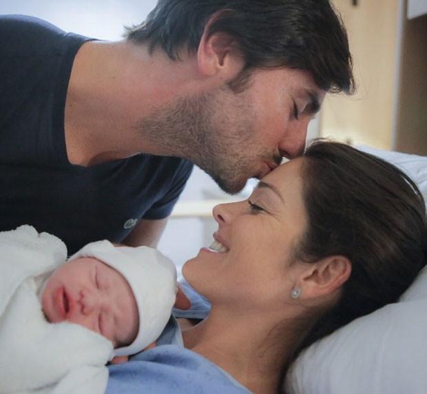 Talula, Pietra e o marido, José Alves (Foto: Reprodução Instagram)