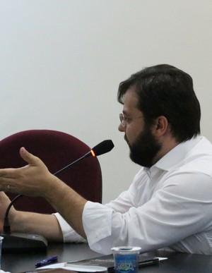 Advogado do River-PI, Augusto Chabloz (Foto: Wenner Tito )