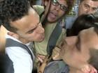 PM joga spray de pimenta durante empurra-empurra na CPI da Merenda