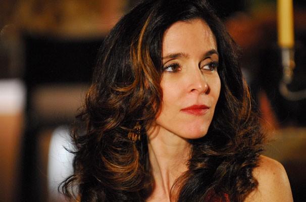Débora Evelyn interpreta a vilã Judith na novela (Foto: Divulgação/ Globo)