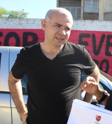 Tiago Vasconcelos Flamengo-PI (Foto: Emanuele Madeira)