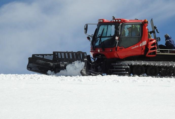 GALERIA DE FOTOS - trator de neve brasileiro de snowboard chile (Foto: Thierry Gozzer)