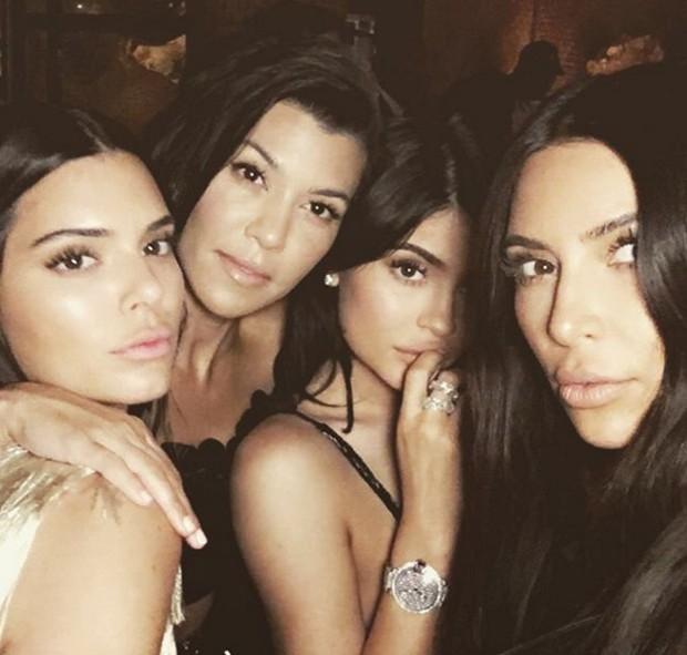 As irmãs Kardashians (Foto: Reprodução Instagram)