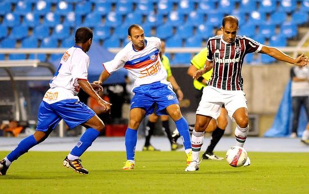 Felipe na partida do Fluminense contra o Friburguense (Foto: Bruno Turano / Photocamera)