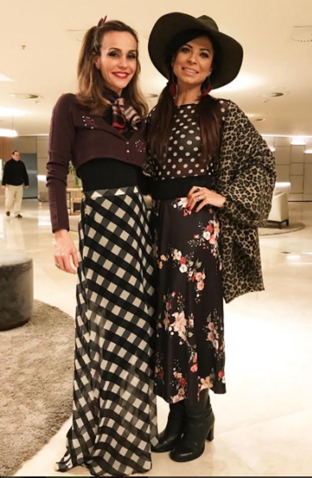 Anna Lima e Flávia Monteiro (Foto: Reprodução/Instagram)