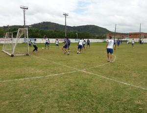 Tupi-MG está tranquilo para jogo de volta com o Juventude-RS (Foto: Nathalie Guimarães)