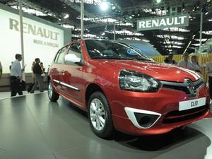 Renault Clio (Foto: Flavio Moraes/G1)