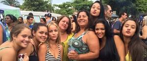 Veja as selfies de carnaval que já estão na galeria do tvtribuna.com; envie a sua você também (Arquivo Pessoal)