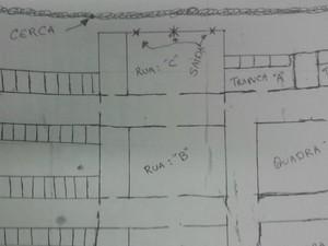 Grupo tinha planta completa de casa de detenção (Foto: Arquivo pessoal)