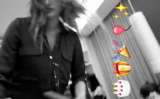 Sasha (Foto: Reprodução / Snapchat)