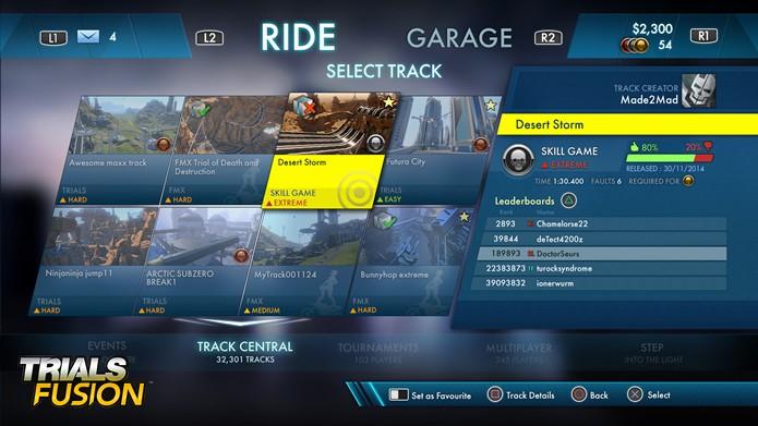Toda a interface foi repensada de acordo com o tema futurista de Fusion, assim como a trilha sonora (Foto: Divulgação/Ubisoft)