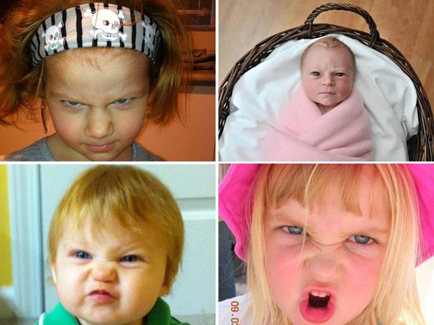 Site elegeu qual seria o bebê mais bravo de todos (Foto: Reprodução)