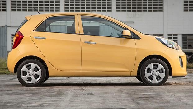 Kia Picanto (Foto: Fábio Aro / Autoesporte)