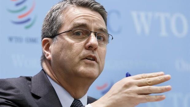 Roberto Azevêdo, diretor-geral da OMC (Foto: Salvatore Di Nolfi/EFE)
