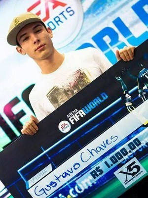 Gustavo foi campeão nacional em 2013 (Foto:  Intz E-SPORTS Club)