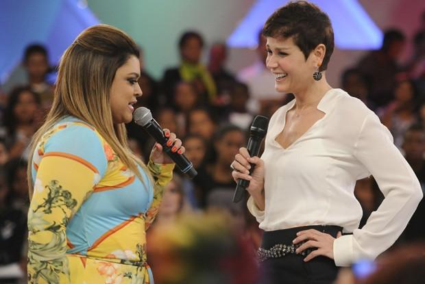 Preta Gil canta no TV Xuxa (Foto: Rede Globo / Estevam Avellar)