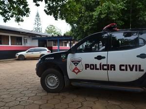 Delegacia de Polícia Civil em Vilhena (Foto: Lauane Sena/G1)