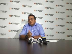 Paulo Sérgio Oliveira, procurador do MPC, afirmou que caso das nomeações de parentes em Roraima é único (Foto: Inaê Brandão/ G1 RR)