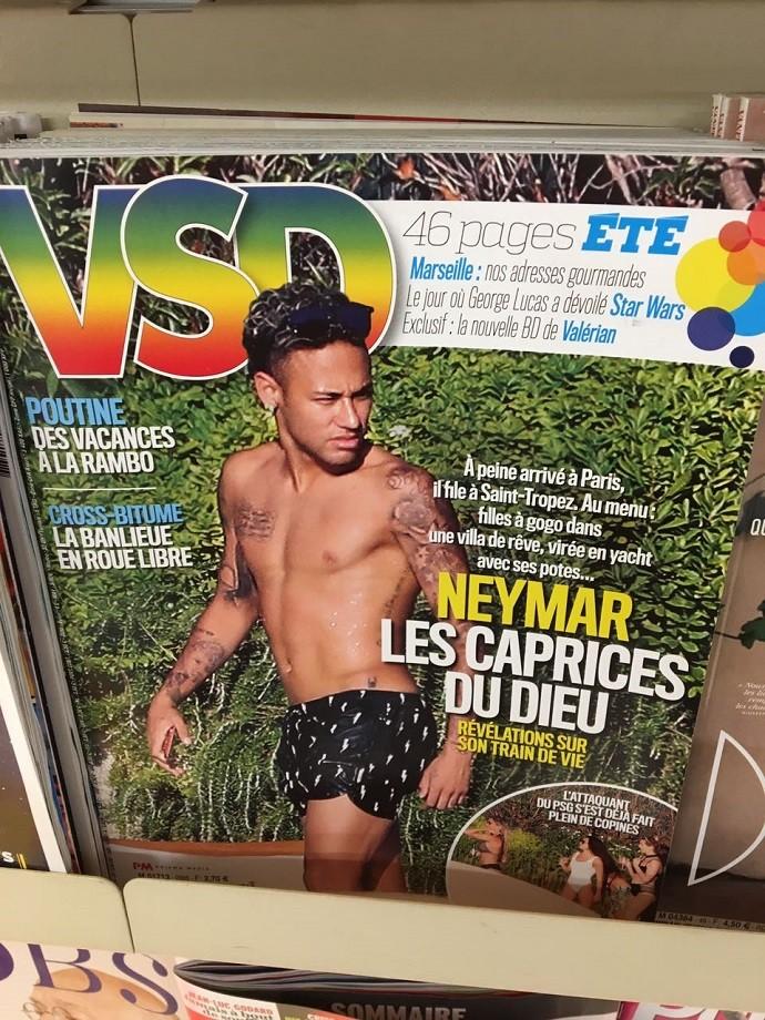 BLOG: O foco de todas as atenções: Neymar é capa de revistas de fofoca na França