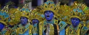 Mocidade, Casa Verde e Gaviões se destacam no 2º dia de desfiles (Nelson Almeida/AFP)